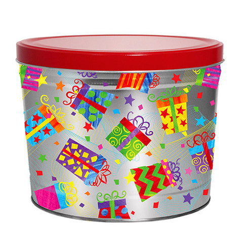 Gifts Galore Two Gallon Popcorn Tin