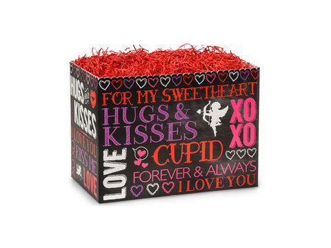 Hugs And Kisses Chalkboard Small Popcorn Box