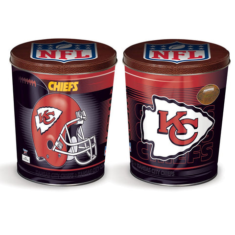 Kansas City Chiefs Three Gallon Popcorn Tin