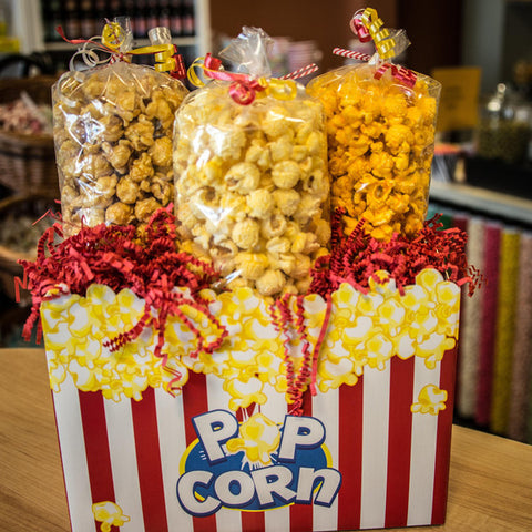 Trendy Triangle Large Popcorn Box