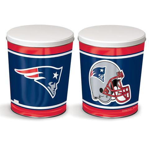 New England Patriots Three Gallon Popcorn Tin
