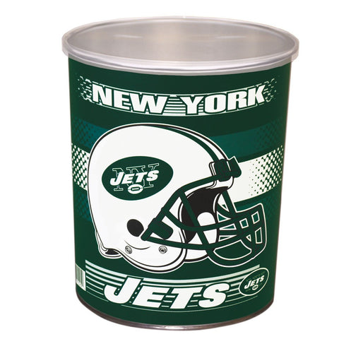 New York Jets One Gallon Tin