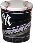 New York Yankees Three Gallon Popcorn Tin