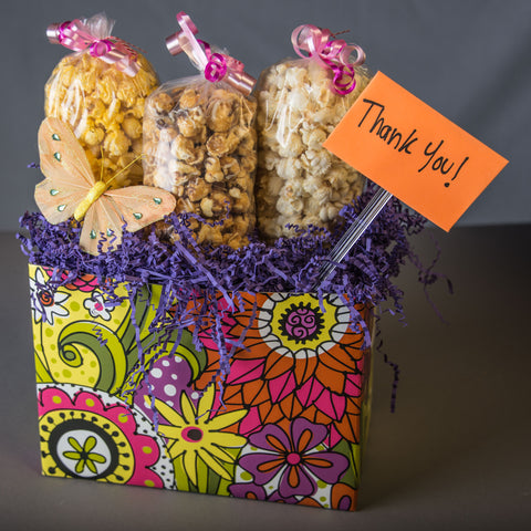 Mothers Day Popcorn Gift Box
