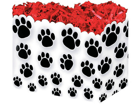 Paw Prints Large Popcorn Box