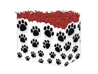 Paw Prints Small Popcorn Box