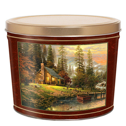 Peaceful Retreat Two Gallon Tin
