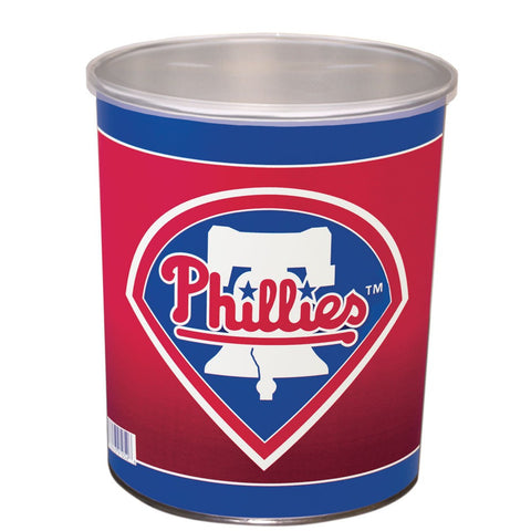 Philadelphia Phillies One Gallon Popcorn Tin