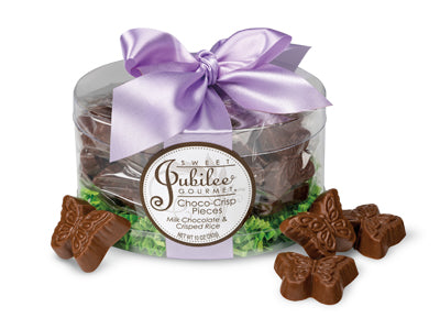Spring Choco-Crunch pieces Butterflies Gift Box