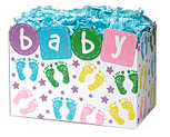Baby Steps Large Popcorn Gift Box
