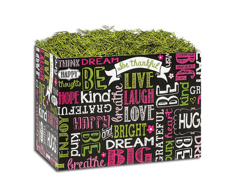 Chalkboard Sentiments Small Popcorn Box