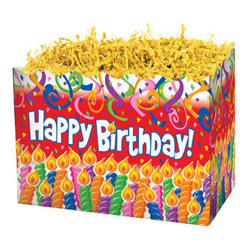 Birthday Candles Small Popcorn Box