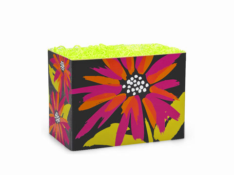 Brushed Floral Small Popcorn Box