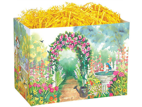 Watercolor Garden Small Popcorn Box