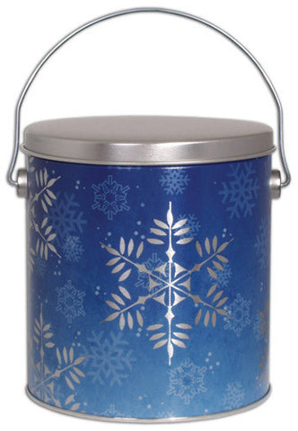 Snowflake One Gallon Tin