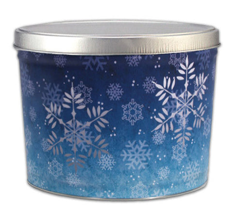 Snowflake Two Gallon Tin