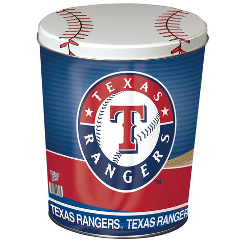 Texas Rangers Three Gallon Popcorn Tin