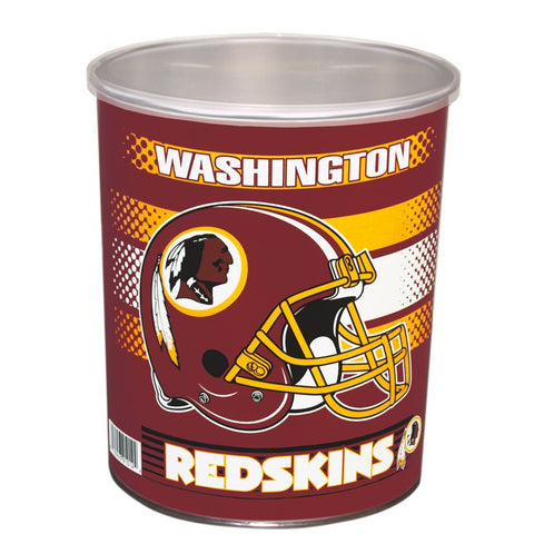 Washington Redskins One Gallon Popcorn Tin