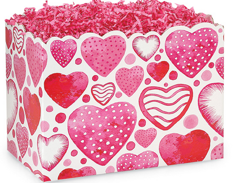 Watercolor Heart Large Box