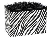 Zebra Large Popcorn Box