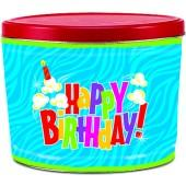 Birthday Pop! Two Gallon Popcorn Tin