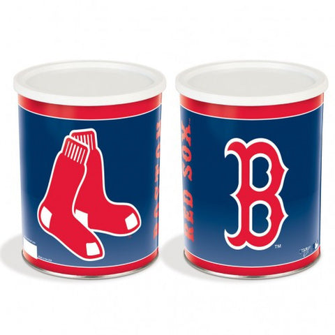 Boston Red Sox One Gallon Popcorn Tin