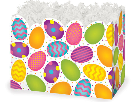 Easter Eggs Basket Large Box