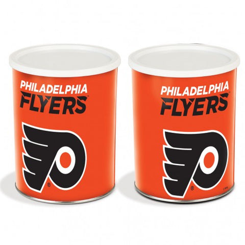 Philadelphia Flyers One Gallon Popcorn Tin