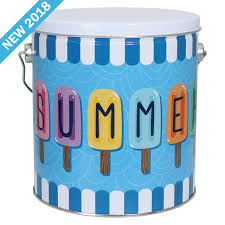 Hello Summer One Gallon Tin