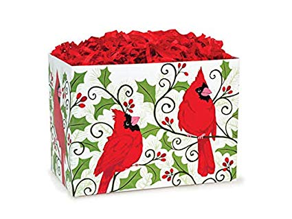 Holly Berry Cardinal Small Box