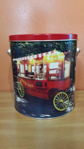 Old Tyme Popcorn One Gallon Tin