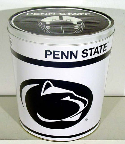 Penn State Three Gallon Popcorn Tin