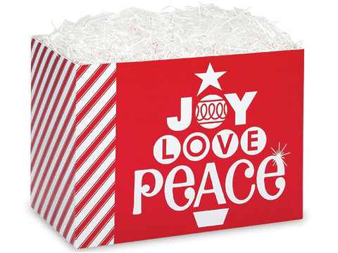 Peppermint Holiday Small Popcorn Box