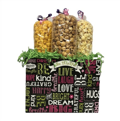 Chalkboard Sentiments Large Popcorn Box