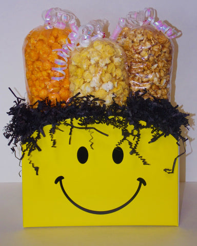 Smiley Large Popcorn Gift Box