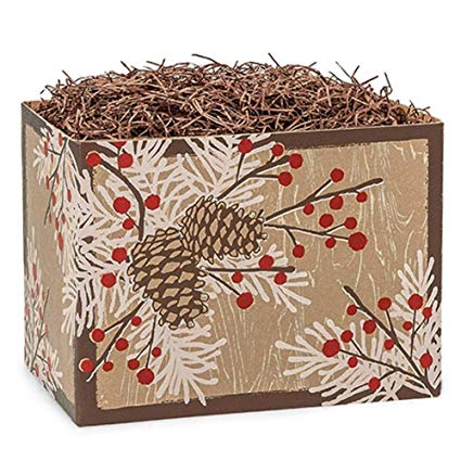 Woodland Berry Pine Large Box