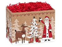 Woodland Santa Small Box