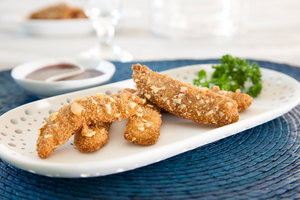 Almond Breaded Duck Tenders - (3) 1lb packages