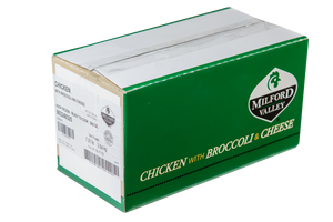 Milford Valley Chicken with Broccoli & Cheese Case - 25 Count
