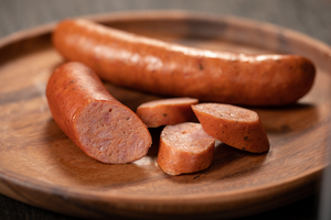 Smoked Duck Sausage Case - (1) 32 count package