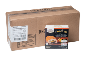 Sandra's Chicken with Kale & Pepperjack Case - 24 Count