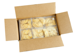 Duck Bacon & Sweet Corn Wontons - (1) 24 count package