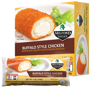 Milford Valley Buffalo Style Chicken Case - 25 Count