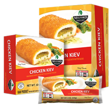 Load image into Gallery viewer, Milford Valley Chicken Kiev Case - 25 Count