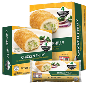 Milford Valley Chicken Philly Case - 25 Count