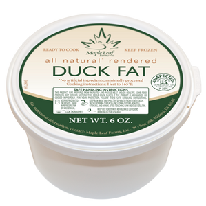 Duck Fat - (3) 6 oz tubs