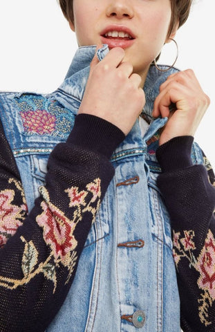 Denim Jean Jacket Mexican Classic