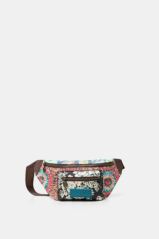 Patch Print Fanny Pack