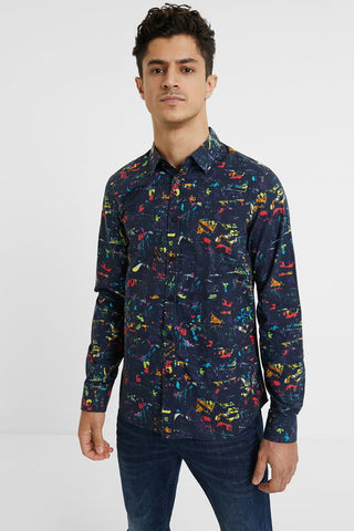Slim arty shirt