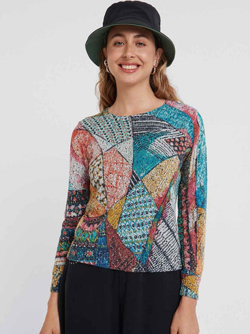 Arty Knit Jumper